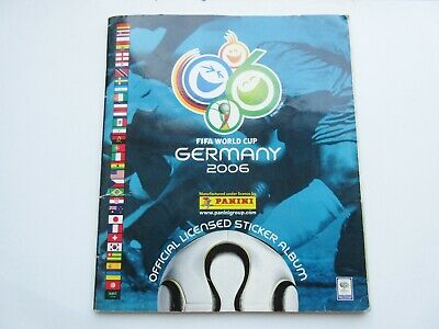 Germany World Cup 2006 Panini sticker album football COMPLETE