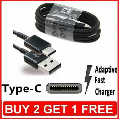 Fast Charging USB Type-c Cable Charger Lead For Huawei P20 / Lite / Pro / P10