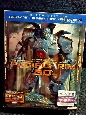 Pacific Rim Collector's Edition 3D + DVD + Blu-ray