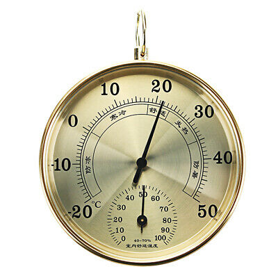 High Precision Household Indoor Outdoor Thermometer Hygrometer Air Psychrometer