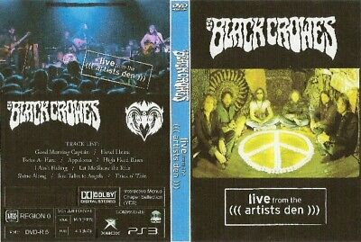 the black crowes live from the artist den dvd soungarden nirvana ozzy