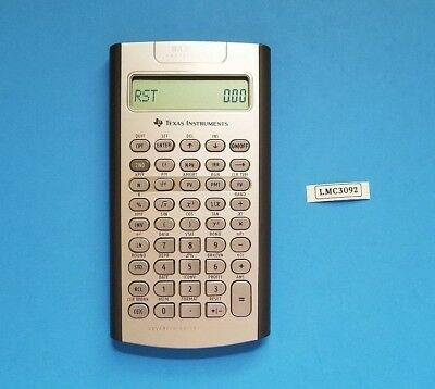 Texas Instruments BA II Plus Professional Financial Calculator in Used Condition