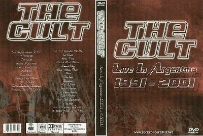 the cult live in argentina dvd 1991-2001 the cure billy idol sex pistols