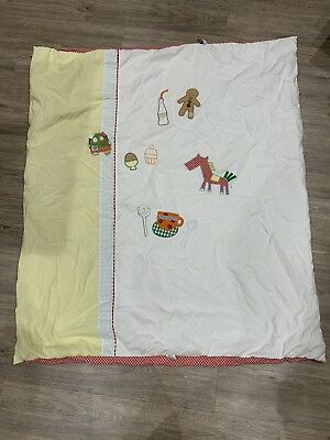 Momas And Papas Gingerbread Duvet Cute Cot Bed