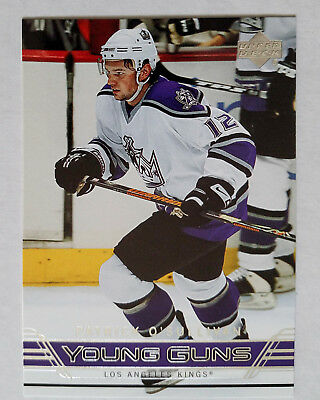 PATRICK O'SULLIVAN 2006-07 UD Series 1 Young Guns Rookie #215 Los Angeles Kings