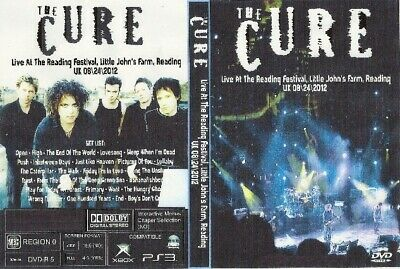 the cure live reading uk 2011 2dvds sex pistols billy idol