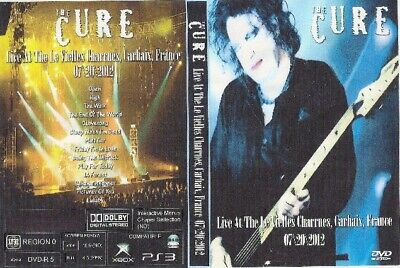 the cure live in france dvd 2012 sex pistols billy idol