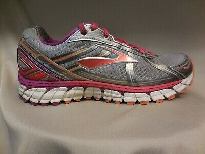 44e8a3cd4bf Brooks Defyance 9 Silver Women s Running Trail Road Running Shoes Womens Size  9
