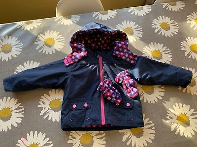 92c4c0acf BABY GIRLS JOJO Maman Bebe 4-in-1 Waterproof Polarfleece Jacket ...