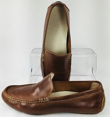 d3ef11c1e40 Cole Haan Somerset Venetian Loafer Men Sz 9.5 M Brown Slip On Driving Moc  C11401