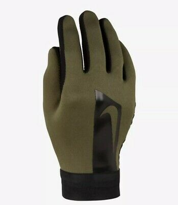 Nike HyperWarm Academy Youth Gloves (Khaki) - Large - New ~ GS0378 325