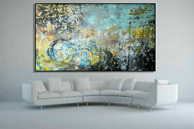 Big Contemporary Original Wall Art Painting Canvas Modern Abstract Oil Pop Deco
