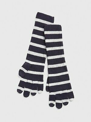 GAP Cozy Stripe Smartphone Gloves Navy Stripe One Size item #397453 Touchscreen