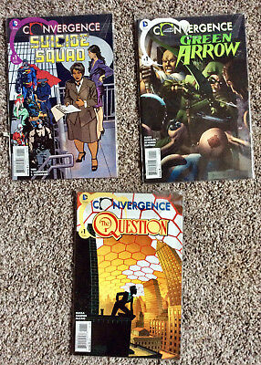 39 issue Convergence MEGA Lot by DC. Main Mini Series + 20 2 issue mini series
