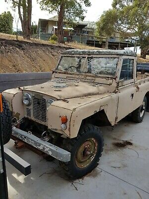 1960's Land Rover Series 2