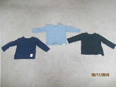 Infant Toddler Boys Clothes Lot of 3 Baby Gap Long Sleeve Pullovers  Size 18-24