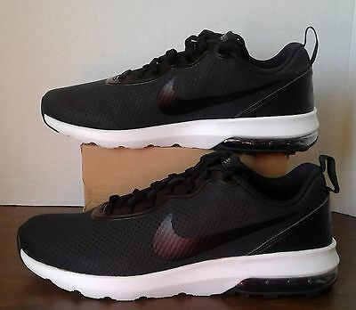 0ffbb3b69b26 New Nike Men s Black white Air Max Turbulence Ls Running Shoes Size 9  827177 001