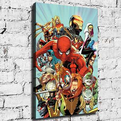 Marvel hero HD Canvas print Painting Home Decor Room Picture Wall art 125708