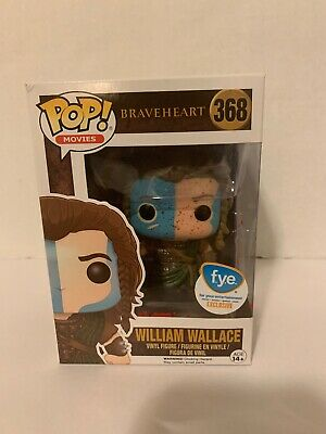 Funko Pop Movies Braveheart William Wallace FYE Exclusive #368 Bloody