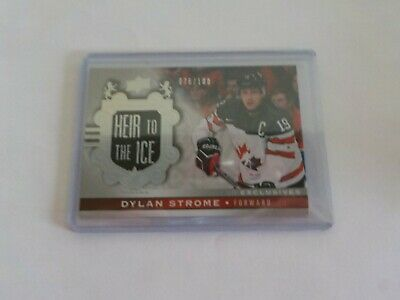 2017-18 UD Canadian Tire Team Canada Silver Exclusive #144 DYLAN STROME 76/100