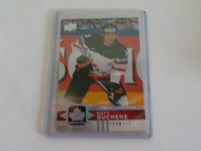 2017-18 UD Canadian Tire Team Canada Silver Exclusive #119 MATT DUCHENE 54/100