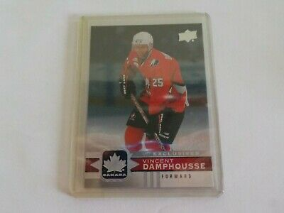 2017-18 UD Canadian Tire Team Canada Silver Exclusive VINCENT DAMPHOUSSE 46/100