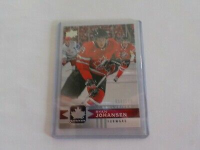 2017-18 UD Canadian Tire Team Canada Silver Exclusive #54 RYAN JOHANSEN 54/100