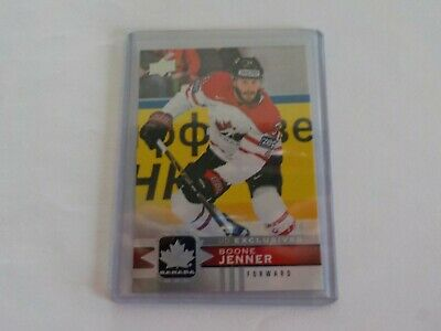 2017-18 UD Canadian Tire Team Canada Silver Exclusive #52 BOONE JENNER 30/100