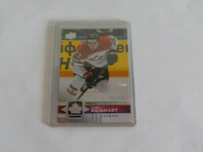 2017-18 UD Canadian Tire Team Canada Silver Exclusive #44 SAM REINHART 54/100
