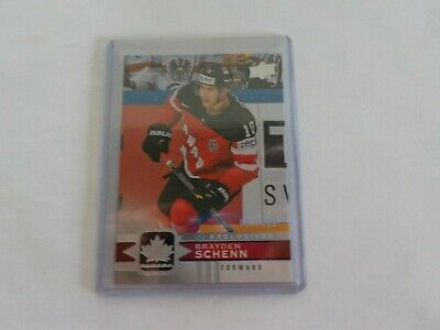 2017-18 UD Canadian Tire Team Canada Silver Exclusive #34 BRAYDEN SCHENN 67/100
