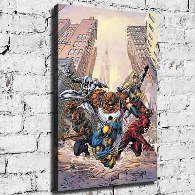 Marvel hero HD Canvas print Painting Home Decor Room Picture Wall art 125716