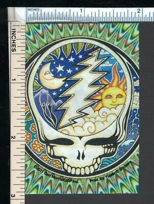 GRATEFUL DEAD (Jerry Garcia Jam Band) Flexi-Magnet;Psychedelic Steal Your Face 1