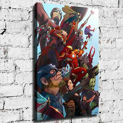 Marvel hero HD Canvas print Painting Home Decor Room Picture Wall art 125747