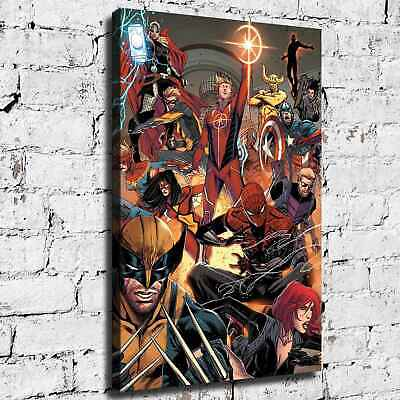 Marvel hero HD Canvas print Painting Home Decor Room Picture Wall art 125754