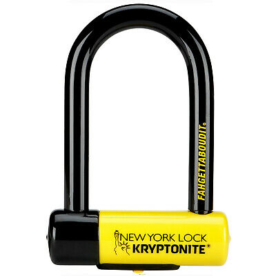 Kryptonite Bike Lock New York FAHGETTABOUDIT Lock