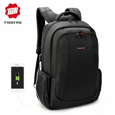 Tigernu Large Capacity Anti-theft Waterproof Women Men Business Laptop Backpack
