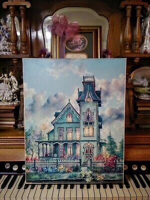 """MARTY BELL """"THE ABBEY"""" LIMITED CANVAS # 2 OF ONLY 750 KINKADE STYLE 20x16 COA"""