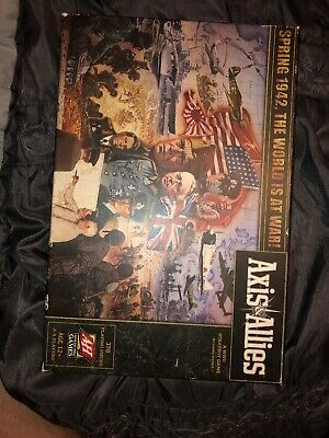 Axis & Allies Spring 1942 WWII Board Game Brand New Sealed Avalon Hill