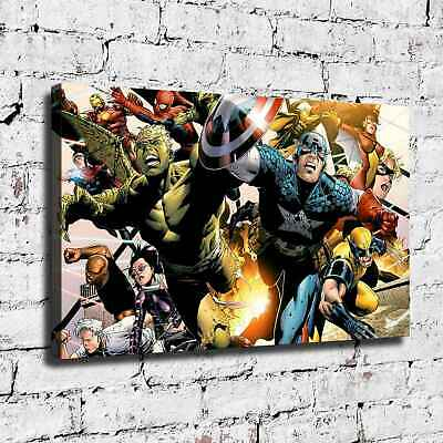 Marvel's hero HD Canvas prints Painting Home Decor Picture Room Wall art 125796