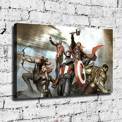 Marvel's hero HD Canvas prints Painting Home Decor Picture Room Wall art 125797