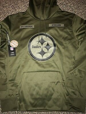 finest selection c17c8 4a0ce PITTSBURGH STEELERS NIKE Salute To Service Sideline ...