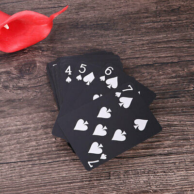 94C8 Plastic Waterproof Poker Card Home Party Board Game Playing Card Magic