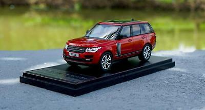 LCD Models 1:43 LAND ROVER Range Rover Red Diecast Car Model