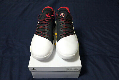 best service fb2fd 3535c Adidas Harden Vol. 1 Pioneer Black White Red Size 13. bw0546 ultra boost