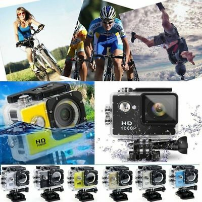 1080P Sports DV Action Camera Full HD Waterproof Camcorder as GoPro Random Color