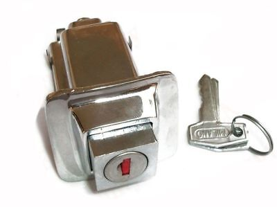 Vespa Chrome Plated Seat Lock With 2 Keys For PX PE Models CDN