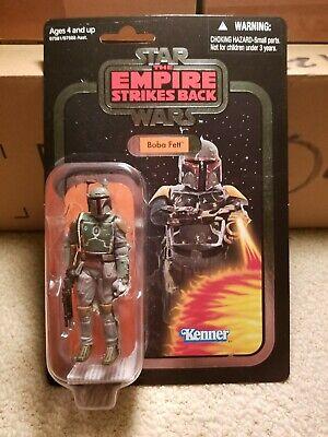 Star Wars Vintage Collection The Empire Strikes Back BOBA FETT VC 09 FOIL CARD
