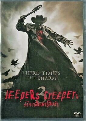 Jeepers Creepers 3 III (2017) DVD PAL Color - Stan Shaw, Gabrielle Haugh, Horror