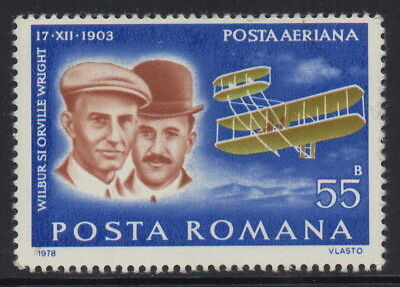 Romania - Air Pioneers of Aviation - MNH