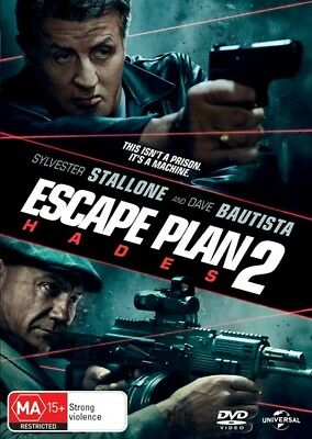 Escape Plan 2 DVD Region 4 -Excellent condition watched once